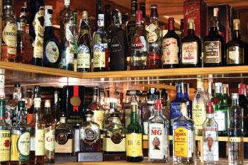 Фото алкогололя в любом баре