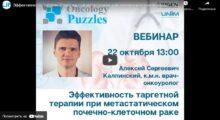 Эффективность таргетной терапии при метастатическом почечно-клеточном раке